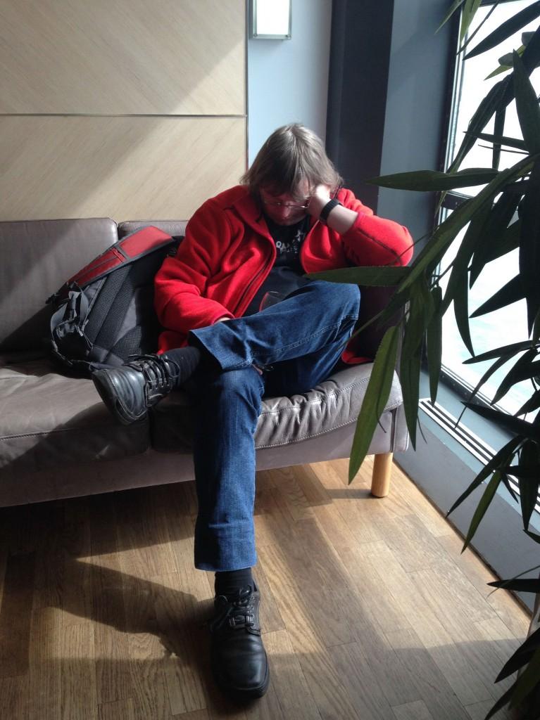 Steve schläft