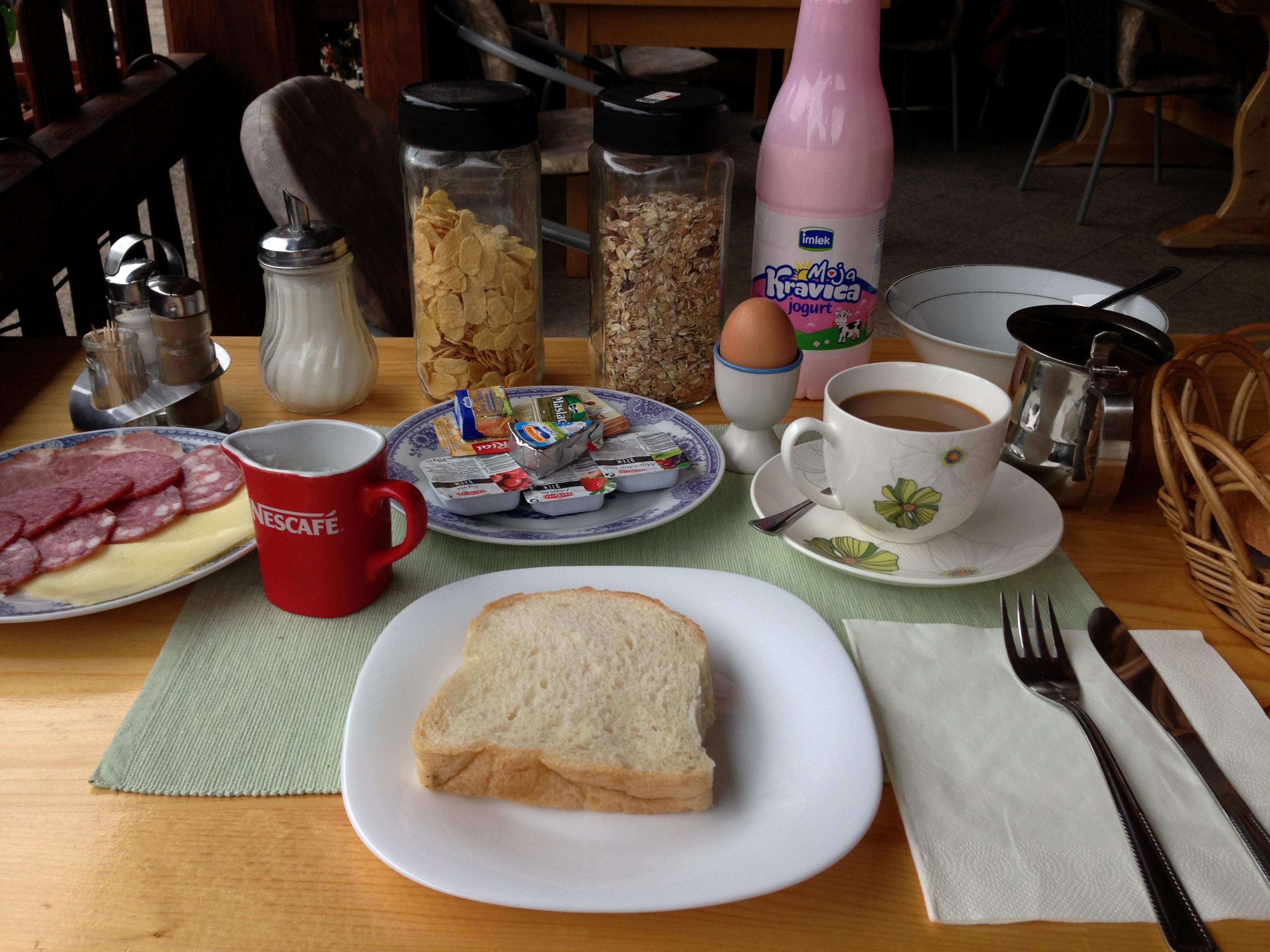 Frühstück Glumac